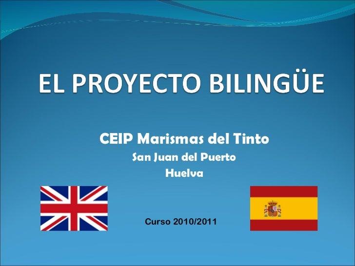 CEIP Marismas del Tinto San Juan del Puerto Huelva Curso 2010/2011
