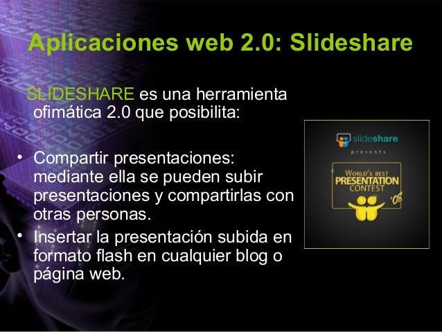 Aplicaciones web 2.0: PODCAST • El PODCASTING consiste en crear archivos de soniodo y distribuirlos mediante un archivo de...