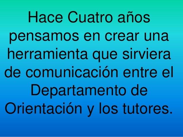 Presentacion blog orientacion andujar bbpp cita Slide 2