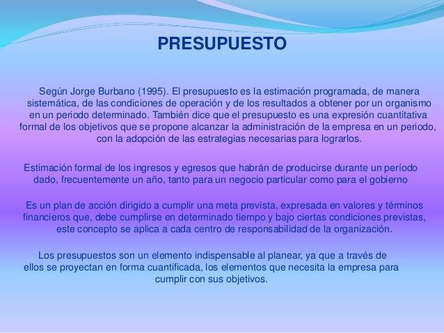 Presentacion  bloque ii presupuesto Slide 2