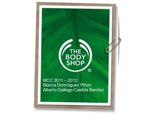 MCC 2011 – 2012Blanca Domínguez PiñónAlberto Gallego-Casilda Benítez