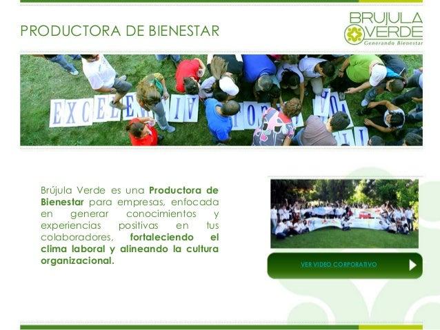 Presentacion Brujula Verde 2013 Slide 2