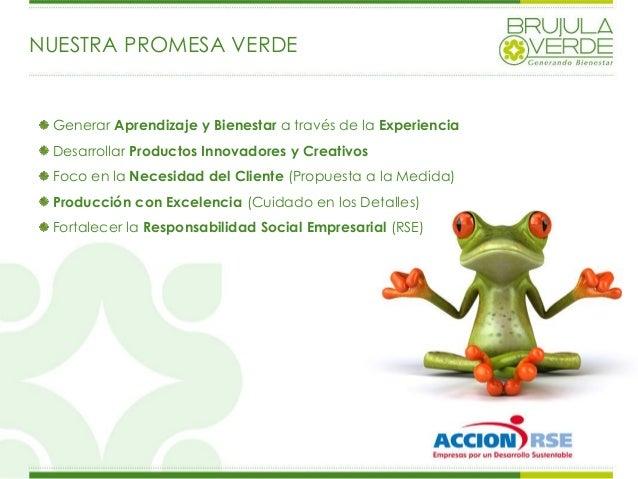 Presentacion Brujula Verde 2013 Slide 3