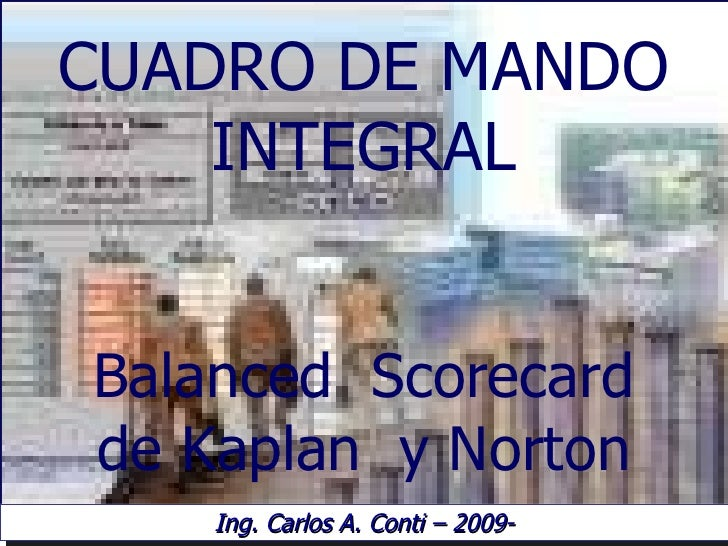 Presentacion Balanced ScoreCard - Estrategiza- 2010