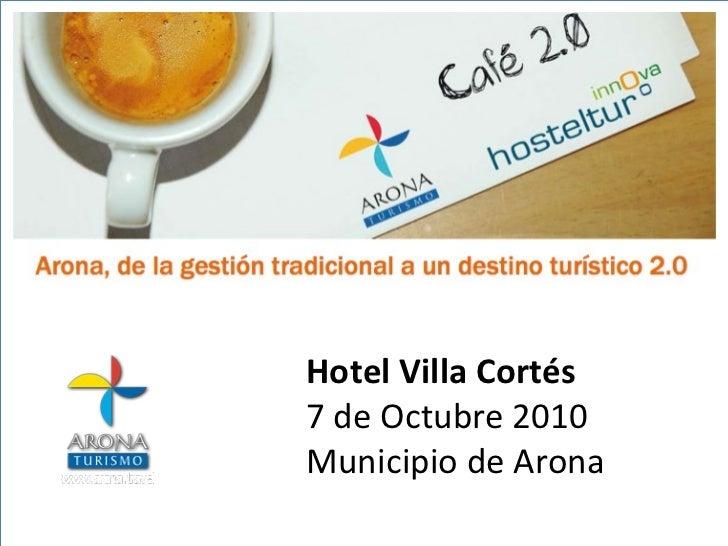 Hotel Villa Cortés 7 de Octubre 2010 Municipio de Arona