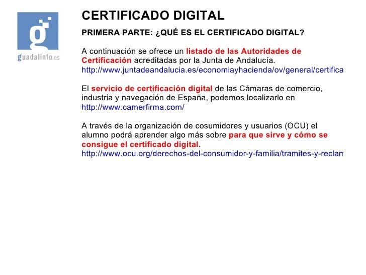 Presentacion cafu 40 certificado digital - Oficinas certificado digital ...