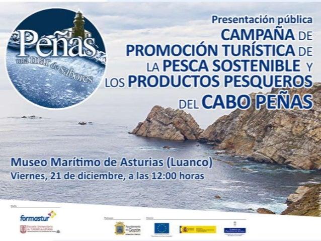 Campaña de sensibilización y promoción turística de la pesca sostenible y los productos pesqueros del Cabo Peñas* *Proyect...
