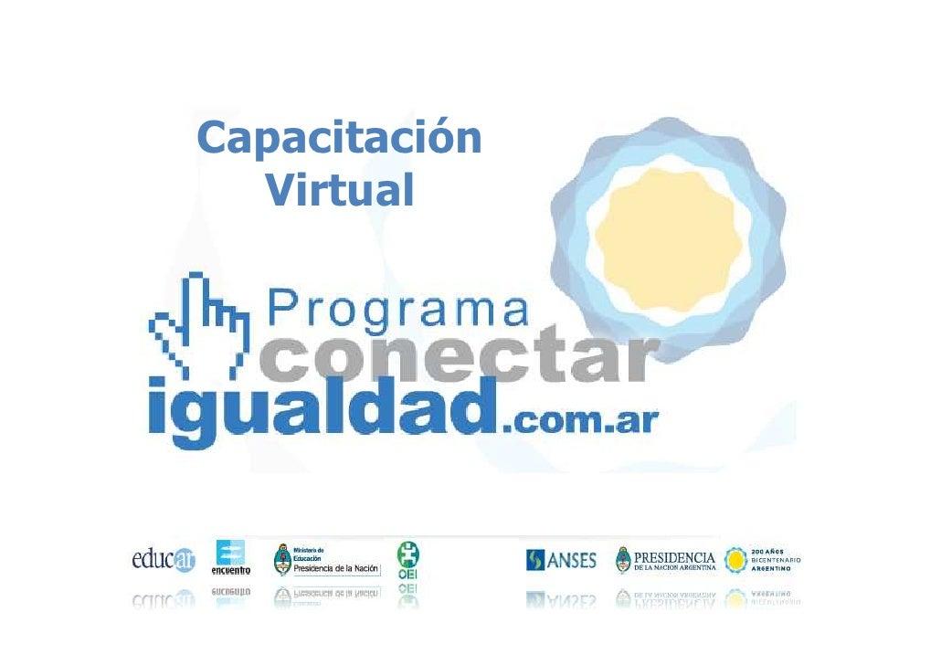Capacitación  Virtual