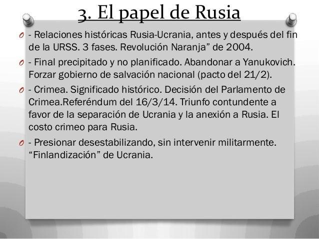 6. Es clave interpretar mejor la política exterior de Rusia  La mirada realista-neorrealista. Intereses.  La mirada idea...