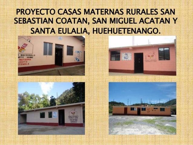 Casas maternas rurales nuevo modelo de atencion primaria en salud g - Casas rurales en san sebastian baratas ...