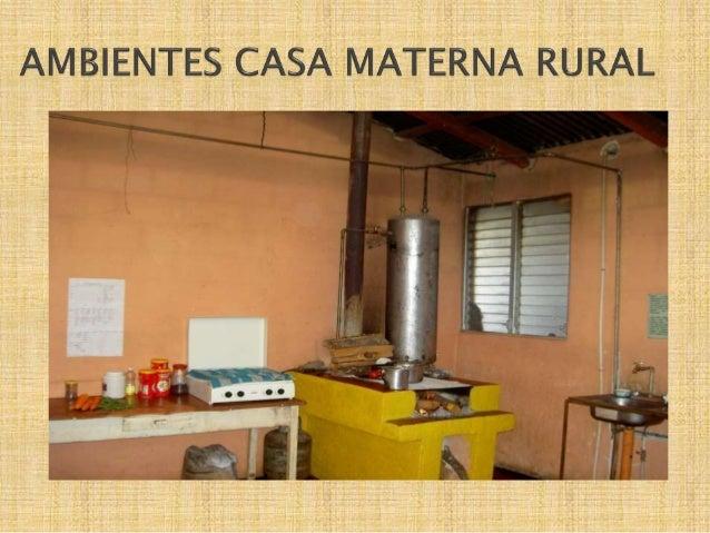 Casas maternas rurales nuevo modelo de atencion primaria en salud g - Trabajo en casas rurales ...