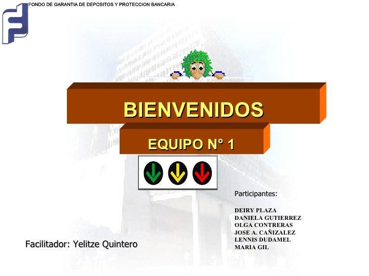 Facilitador: Yelitze Quintero Participantes: DEIRY   PLAZA DANIELA GUTIERREZ OLGA CONTRERAS JOSE A. CAÑIZALEZ LENNIS DUDAM...