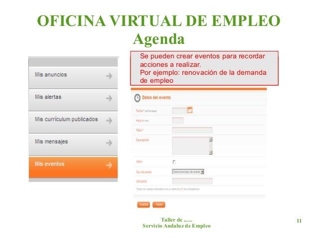 Gesti n para el empleo for Oficina virtual empleo