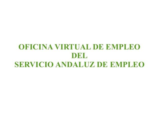 Gesti n para el empleo for Oficina vertual de empleo