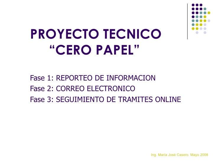 <ul><li>Fase 1: REPORTEO DE INFORMACION </li></ul><ul><li>Fase 2: CORREO ELECTRONICO </li></ul><ul><li>Fase 3: SEGUIMIENTO...