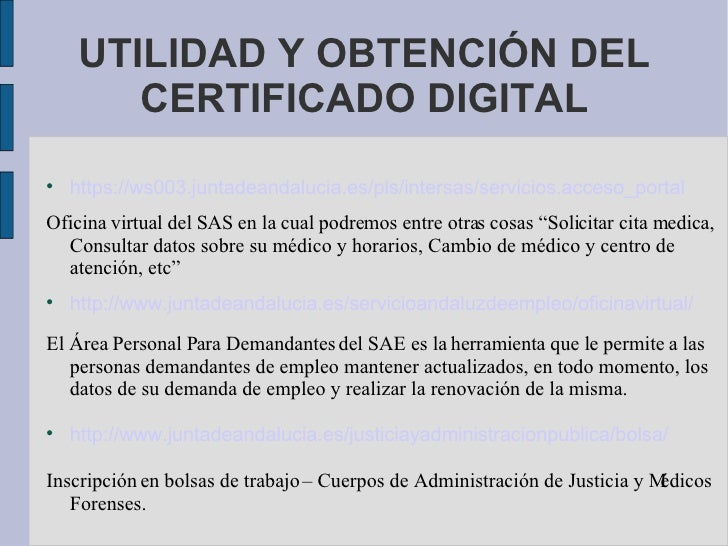 Certificado digital for Http empleocastillayleon jcyl es oficina virtual renovacion demanda