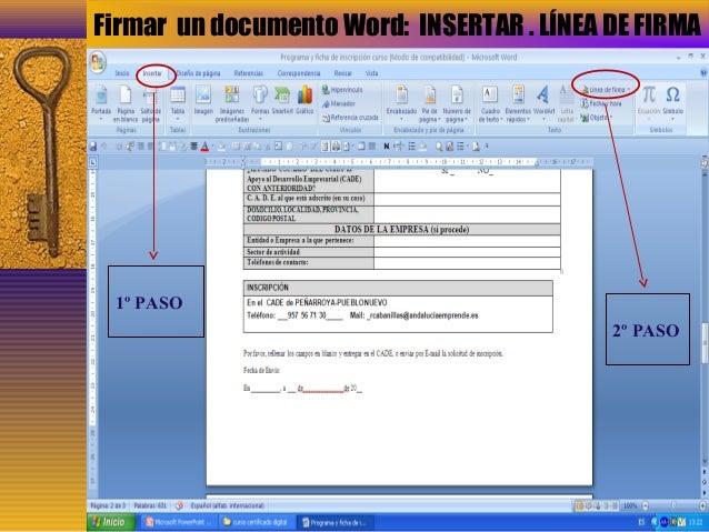 Presentacion certificado digital - Oficinas certificado digital ...