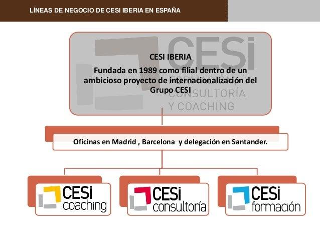 Presentacion cesi iberia s a for Oficinas de iberia en madrid