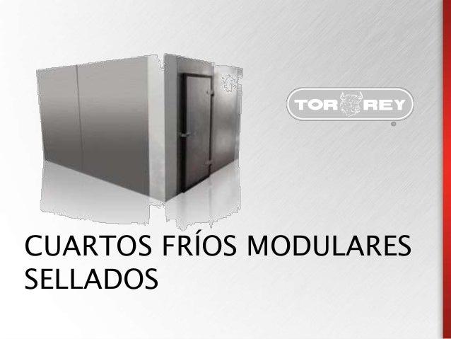 CUARTO FRIO MODULAR SELLADO