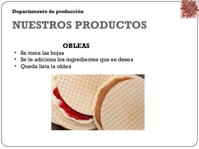 CHP  Chocolate Paradise  DEPARTAMENTO DE MERCADEO Y  PUBLICIDAD  Departamento encargado de dar a conocer la  empresa media...