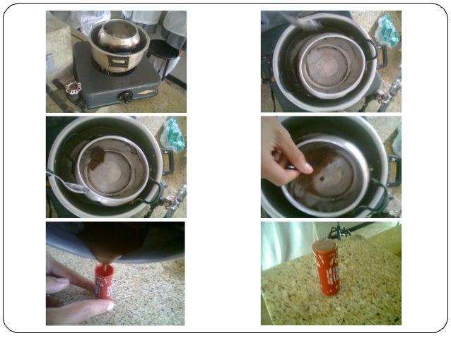 Departamento de producción  NUESTROS PRODUCTOS  VELAS  • Se raspa la parafina en una olla.  • Se deja en baño de maría la ...