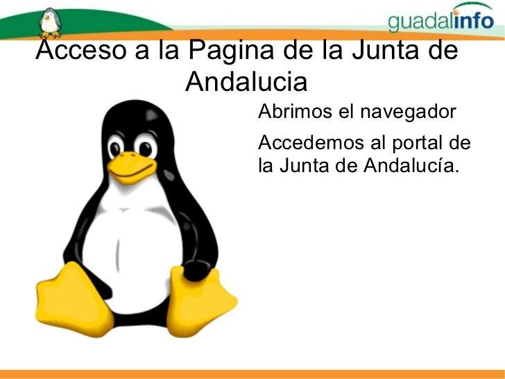 Presentacion cita medico for Oficina virtual junta de andalucia
