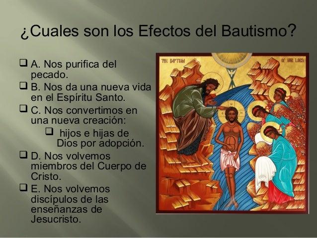 El Matrimonio Catolico Que Efectos Produce : Presentacion clase bautismo y confirmacion