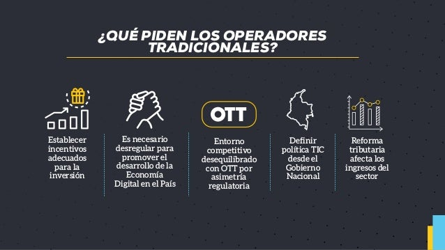 ¿Cuál debe ser el rol de regulador de comunicaciones? ---> Presentacion CLTx 2018 Slide 2