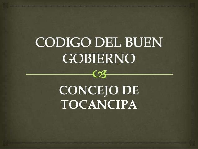CONCEJO DE TOCANCIPA