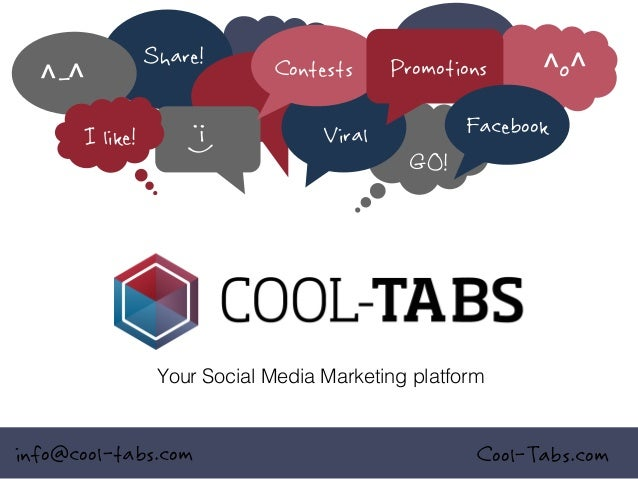 ^-^  :-)  I like!  Share!  Contests Viral  Promotions  ^o^  Facebook GO!  Your Social Media Marketing platform!  info@cool...