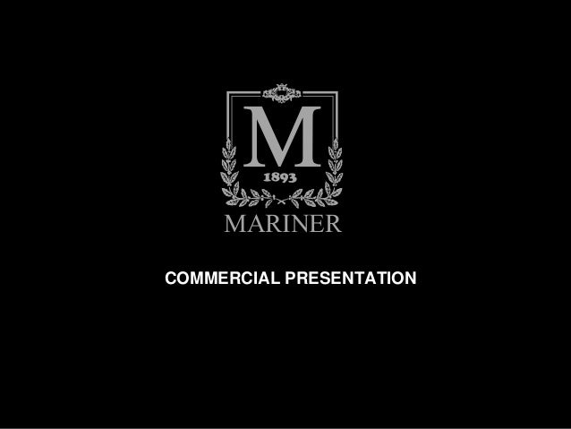 MARINER LUXURY FURNITURE U0026 LIGHTING. MARINERCOMMERCIAL PRESENTATION ...