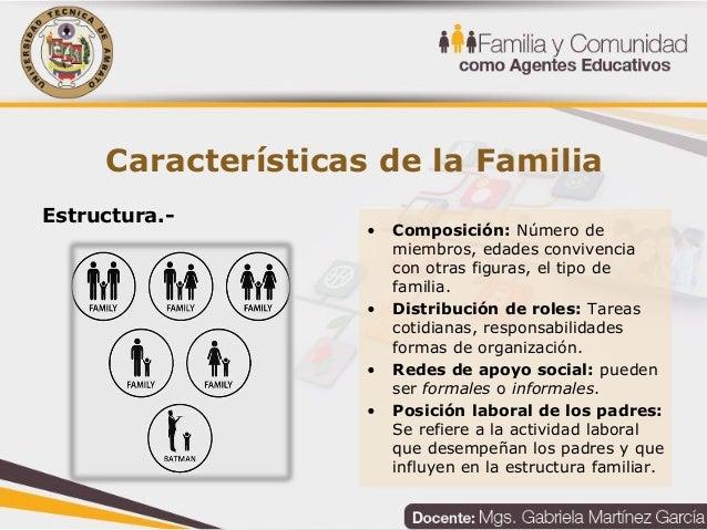 Unidad 1 la familia en la sociedad contempor nea for Tipos de familia pdf