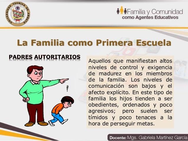 Unidad 2: La Familia Y El Proceso Educativo Del Niño