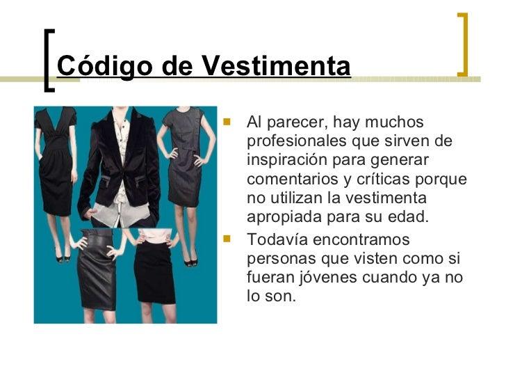 Código de Vestimenta Slide 2
