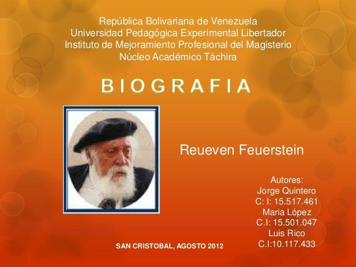 República Bolivariana de Venezuela  Universidad Pedagógica Experimental LibertadorInstituto de Mejoramiento Profesional de...