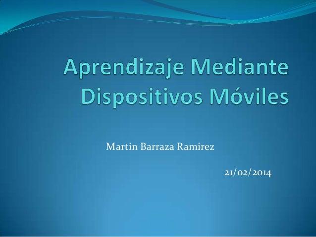 Martin Barraza Ramirez 21/02/2014
