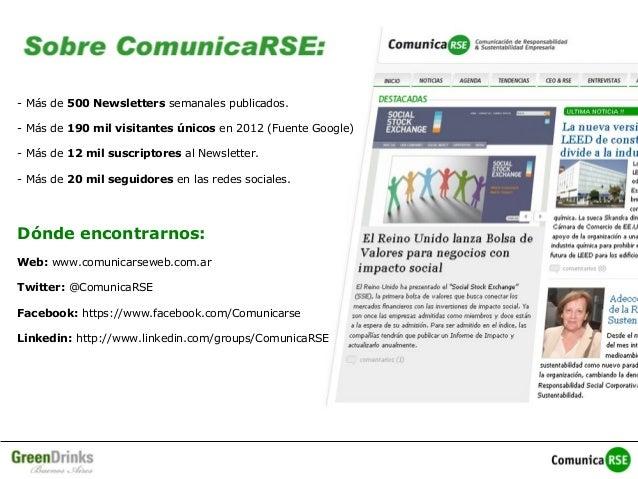 Presentación ComunicaRSE Julio 2013 Slide 2
