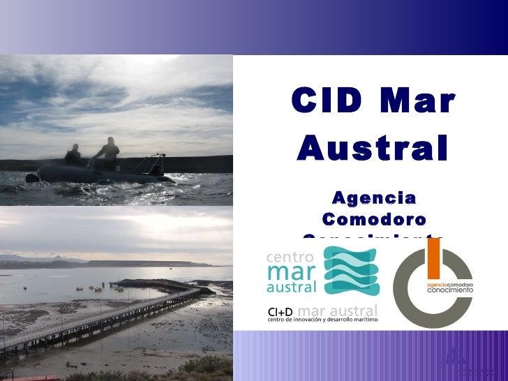 CID Mar Austral Agencia Comodoro Conocimiento