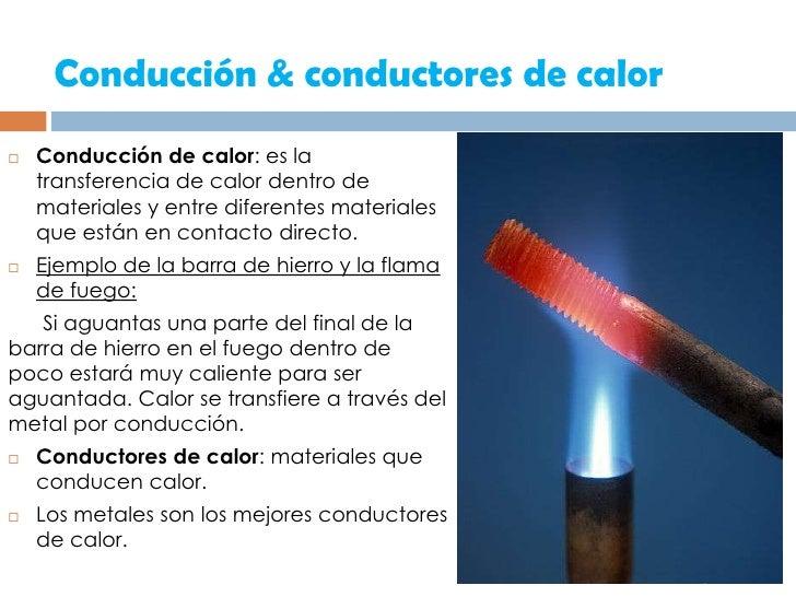 Presentacion conductores - Materiales aislantes del calor ...
