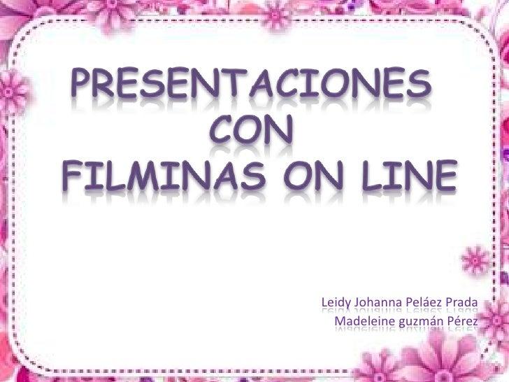 Leidy Johanna Peláez Prada  Madeleine guzmán Pérez