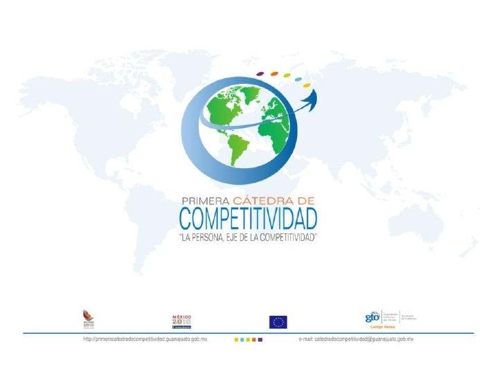 Presentación Primera Cátedra de Competitividad