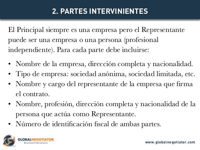 CONTRATO DE REPRESENTACIÓN COMERCIAL INTERNACIONAL - Modelo de Contrato y Ejemplo Slide 3