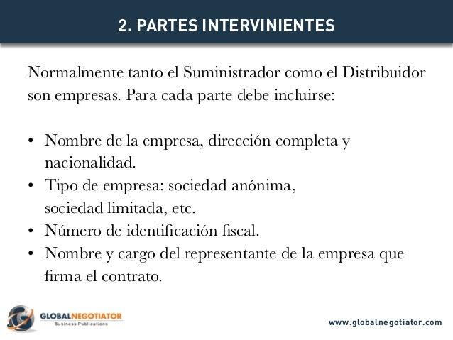 CONTRATO DE DISTRIBUCIÓN INTERNACIONAL - Modelo de Contrato y Ejemplo Slide 3