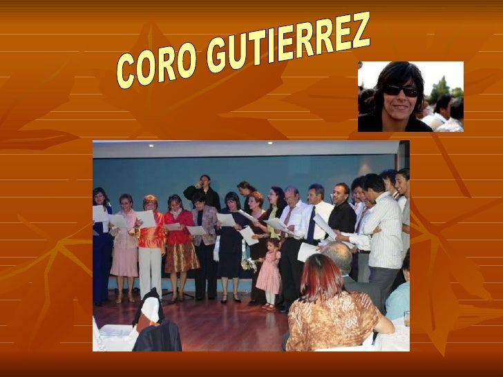 CORO GUTIERREZ
