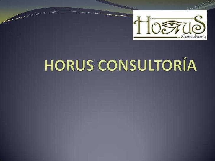 HORUS CONSULTORÍA <br />
