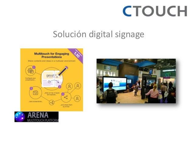 Solución digital signage