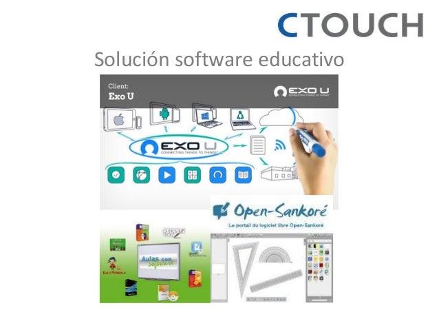 Solución software educativo