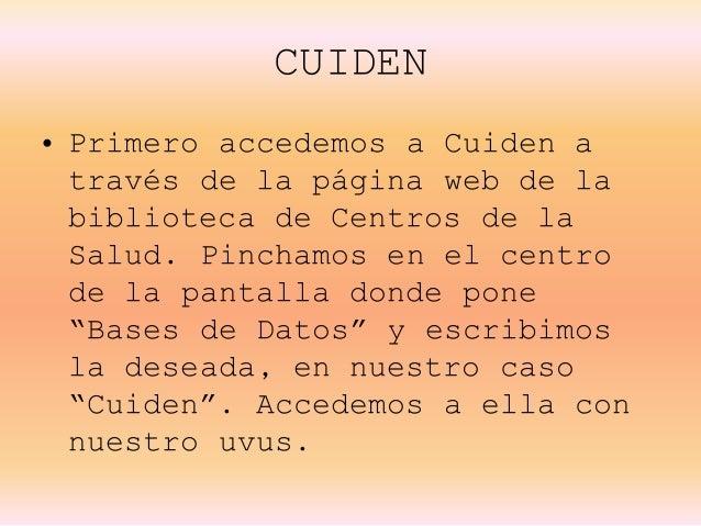 CUIDEN Slide 3