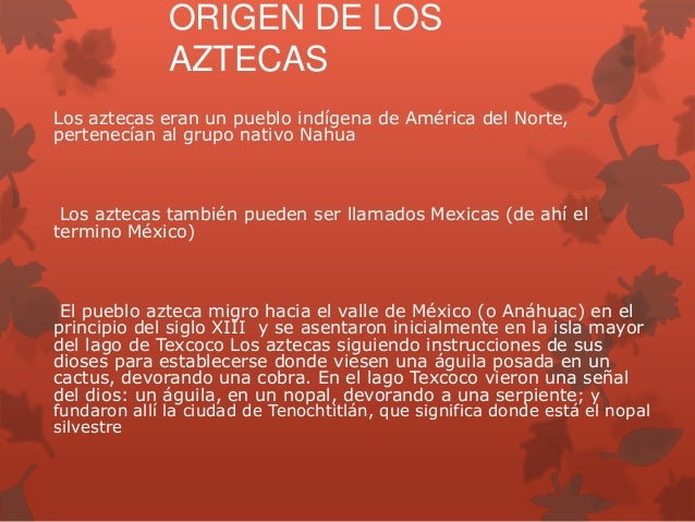 Presentacion cultura azteca Slide 3