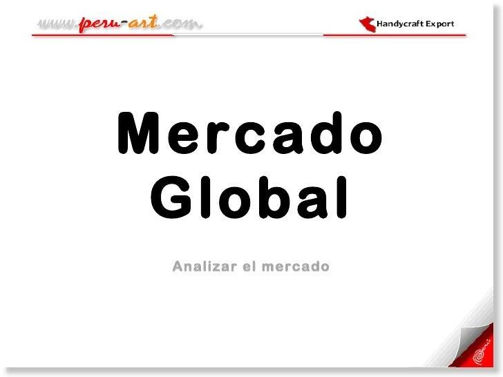 Mercado Global Analizar el mercado